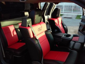 Custom car seat cover