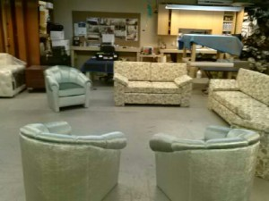 Living room set in our shop