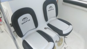 Custom boat Upholstery by Arol's Style Upholstery