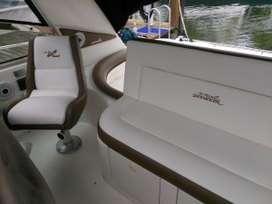 Boat Upholstery Redesigned by Arol's Style Upholstery