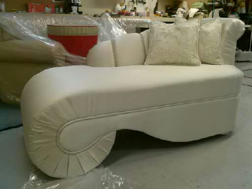 Beautiful and unique chaise