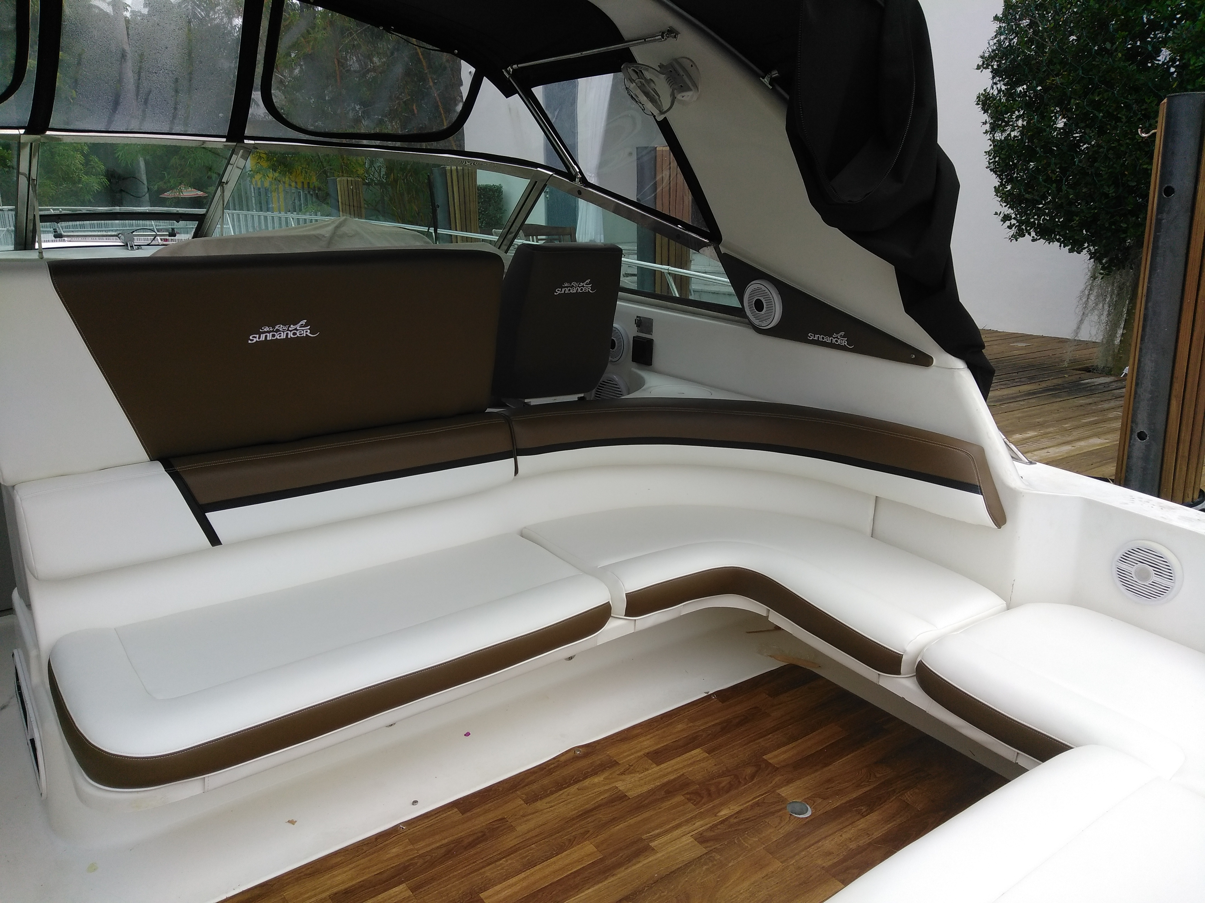 After Searay Redesigned By Arol S Style Upholstery 2 Arol S